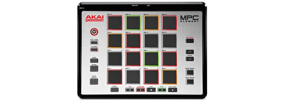 Сэмплеры Akai MPC ELEMENT