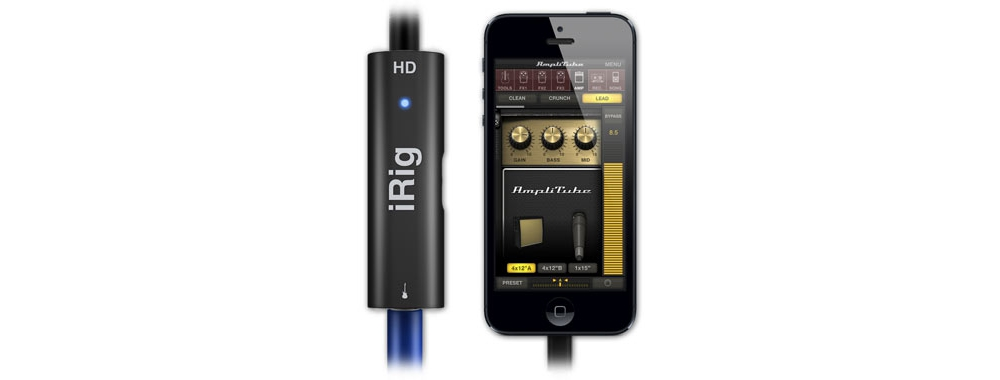 Apple accessories  IK Multimedia iRig HD
