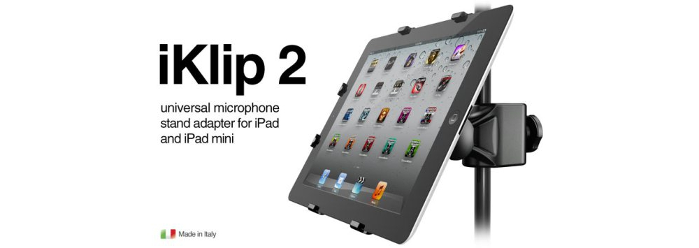 Apple accessories  IK Multimedia iKlip 2