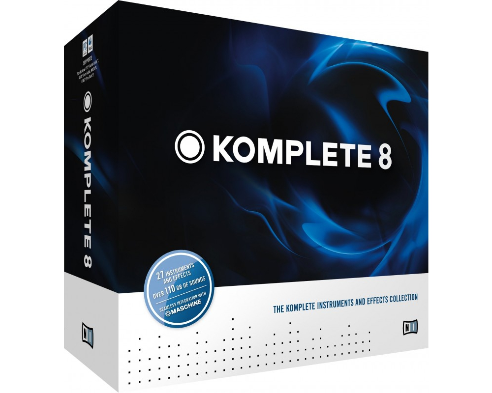Программы для создания музыки Native Instruments Komplete 8