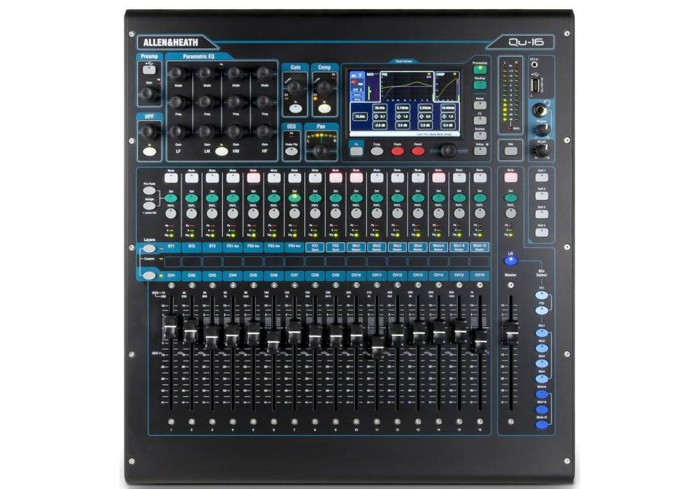��������� ������ Allen & Heath Qu-16