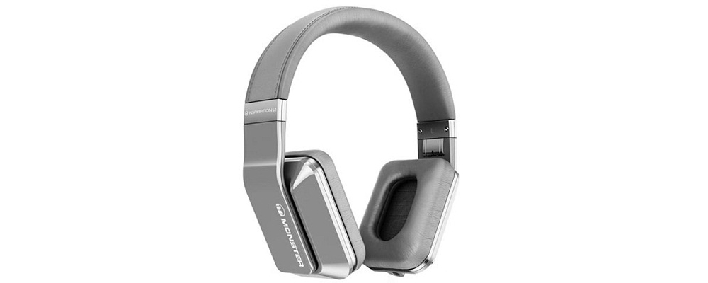 Наушники для плеера  Monster Inspiration Active Noise Canceling Over-Ear Silver