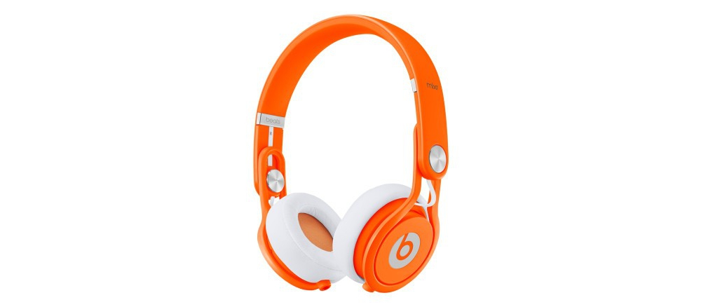 DJ-наушники Beats by Dr. Dre Mixr Neon Orange