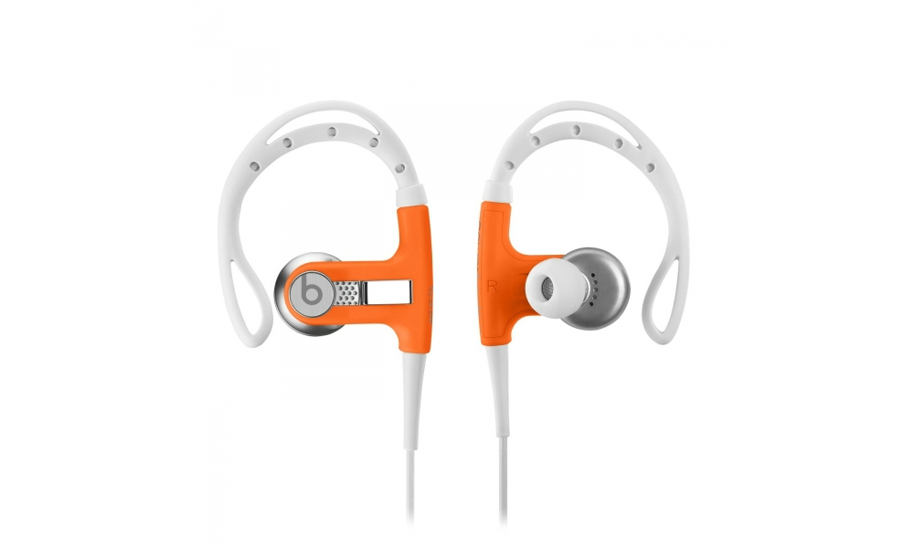 Наушники для плеера Beats by Dr. Dre PowerBeats Sport Headphones Neon Orange