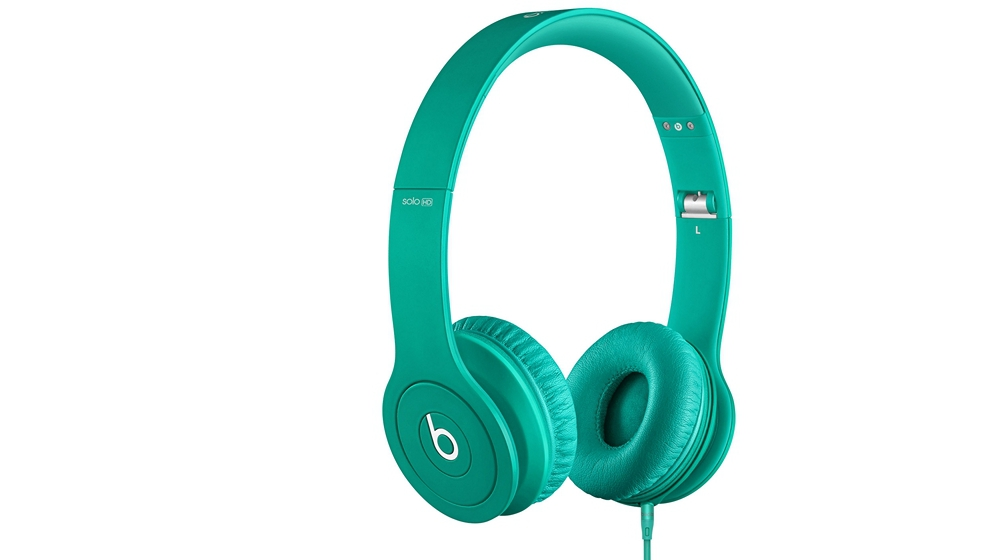 Наушники для плеера  Beats by Dr. Dre Solo HD Monochromatic On Ear Headphone Mint