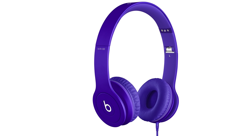 Наушники для плеера  Beats by Dr. Dre Solo HD Monochromatic On Ear Headphone Purple