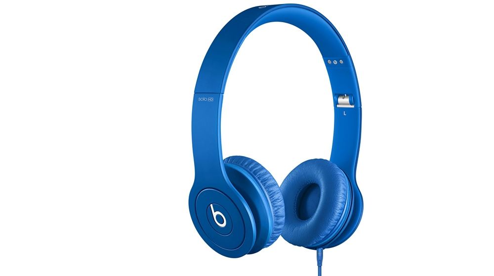 Наушники для плеера  Beats by Dr. Dre Solo HD Monochromatic On Ear Headphone Blue