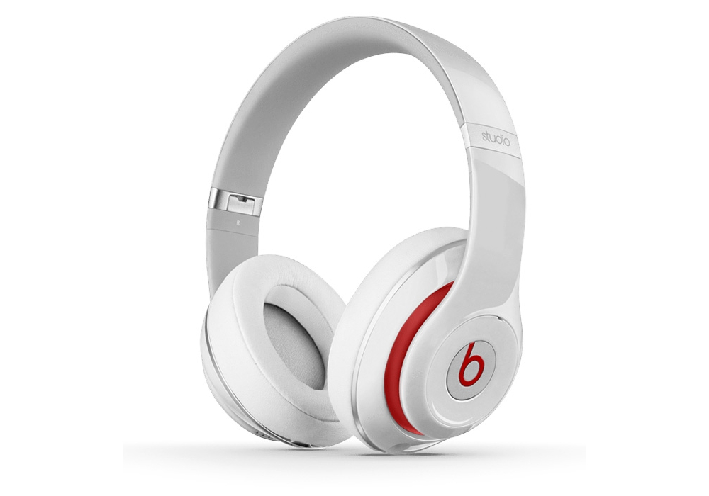 �������� ��� ������  Beats by Dr. Dre Studio 2.0 Over Ear Headphone White