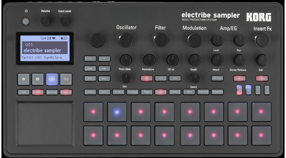 Грувбоксы Korg Electribe 2Sampler
