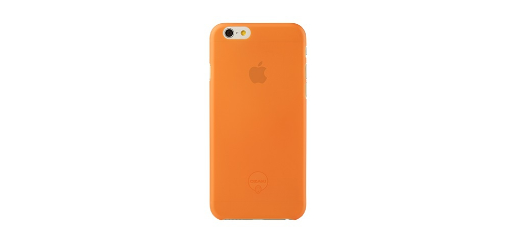 Apple accessories  OZAKI O!coat-0.3-Jelly iPhone 6 Orange