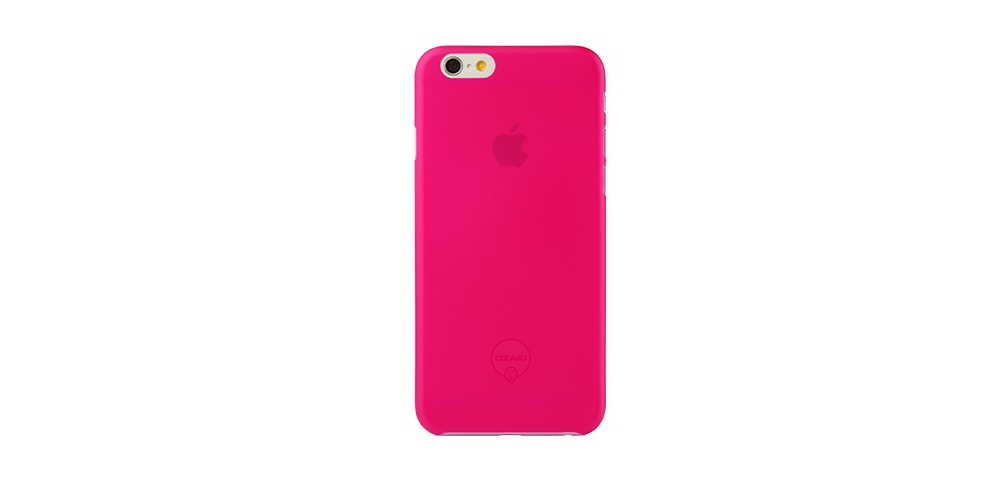 Apple accessories  OZAKI O!coat-0.3-Jelly iPhone 6 Pink