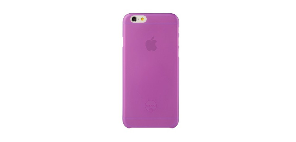 Apple accessories  OZAKI O!coat-0.3-Jelly iPhone 6 Purple