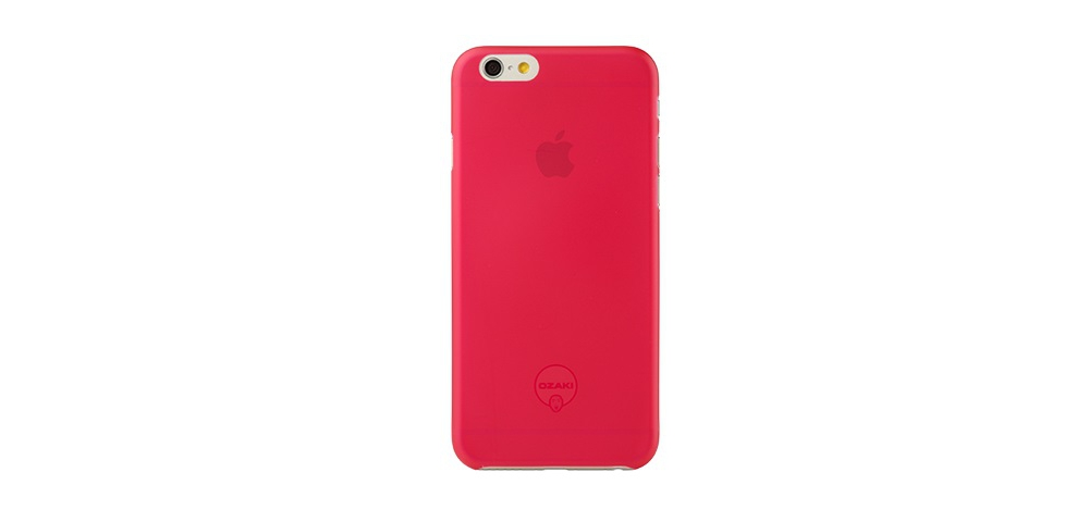 Apple accessories  OZAKI O!coat-0.3-Jelly iPhone 6 Red