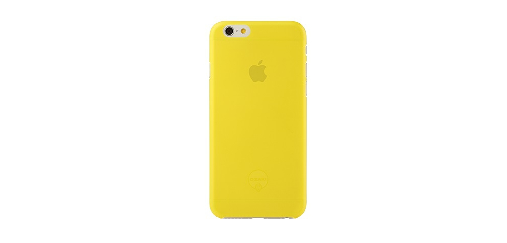 Apple accessories  OZAKI O!coat-0.3-Jelly iPhone 6 Yellow