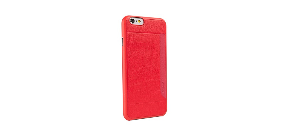 Apple accessories  OZAKI O!coat-0.3+Pocket iPhone 6 Red