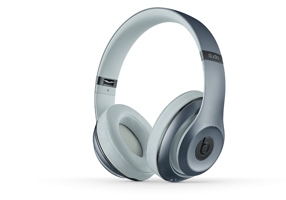 Наушники для плеера  Beats by Dr. Dre Studio 2.0 Over Ear Headphone Metallic Sky
