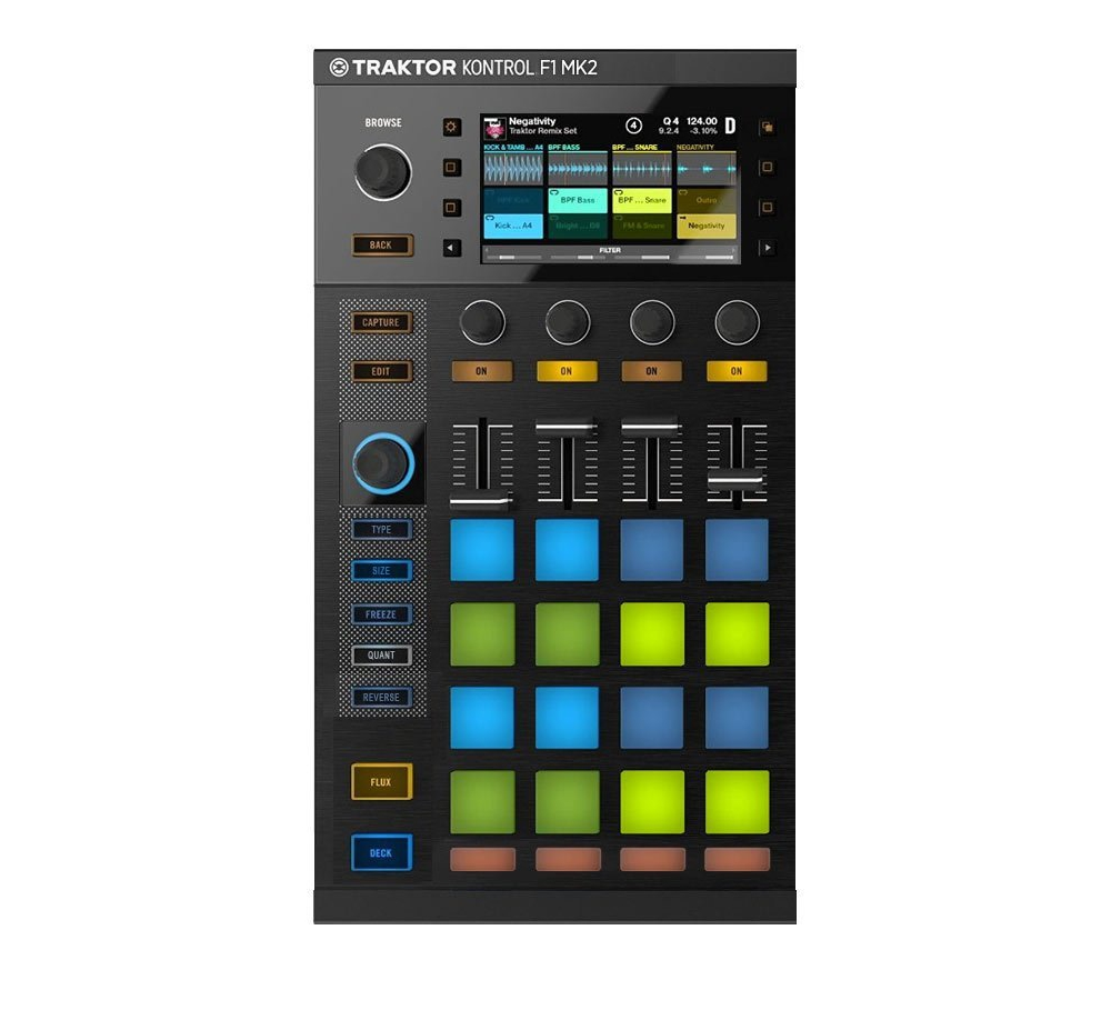 DJ-контроллеры Native Instruments Traktor Kontrol F1 MK2