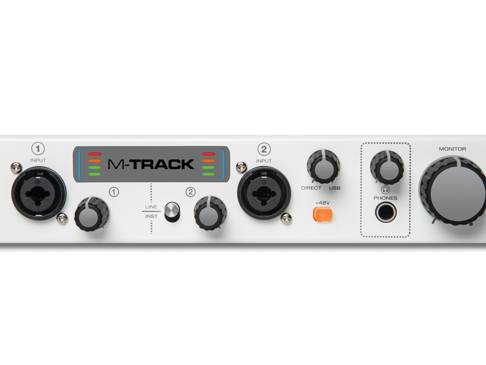 Звуковые карты USB/Thund. M-Audio M-Track II