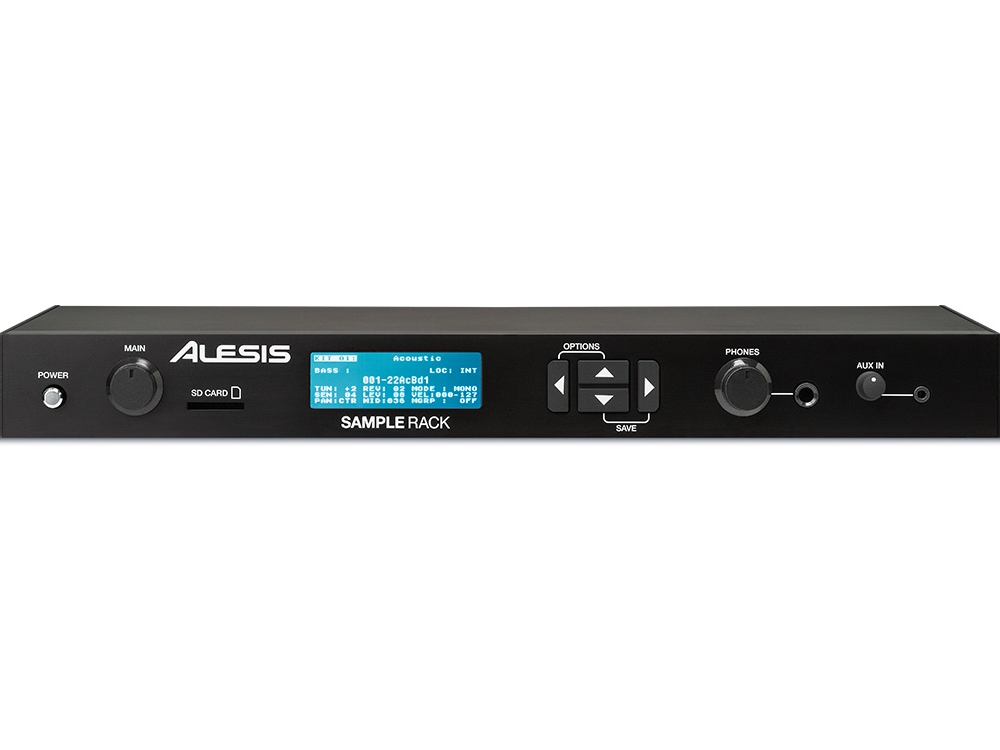 Аудио конверторы, рекордеры Alesis SAMPLE RACK
