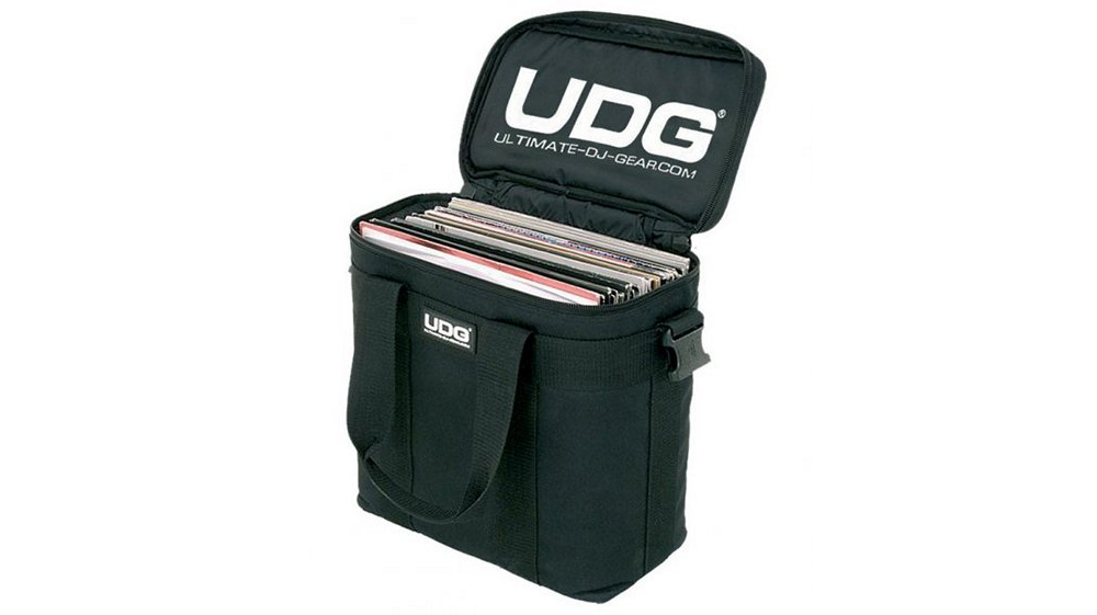 Сумки для пластинок UDG Ultimate StarterBag Black/White Logo