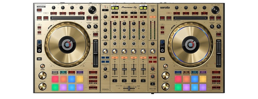 DJ-контроллеры Pioneer DDJ-SZ-N Gold Limited Edition