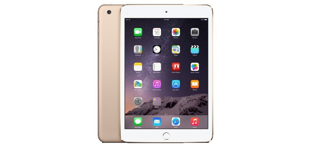 iPad mini Apple iPad mini 3 Wi-Fi 64Gb (Gold)