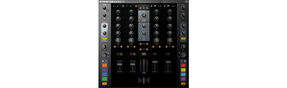 DJ-микшеры Native Instruments Traktor Kontrol Z4