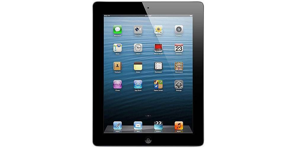 iPad Apple iPad 4 Retina Wi-Fi + 4G 64Gb Black