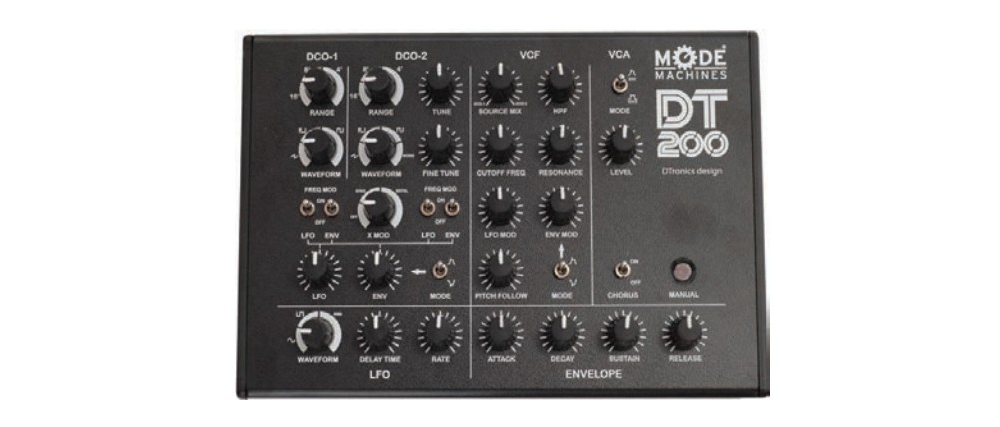 ����������� � ������� ������� MODE MACHINES DT200