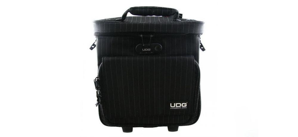 Сумки/кейсы для контроллеров UDG Ultimate Trolley To Go Black/Grey Stripe