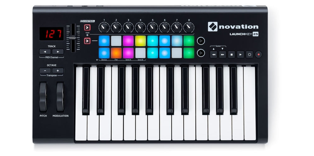 Midi-���������� Novation LAUNCHKEY 25 MK2