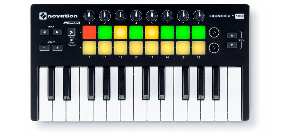 Midi-клавиатуры Novation LAUNCHKEY MINI MK2