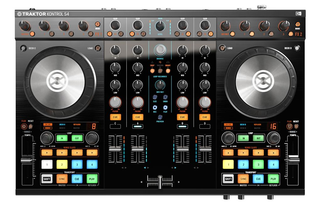 DJ-контроллеры Native Instruments Traktor Kontrol S4 MK2