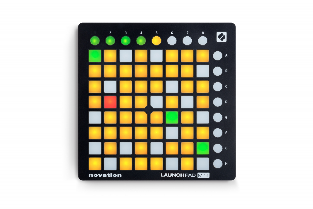 DJ-контроллеры Novation Launchpad Mini MKII