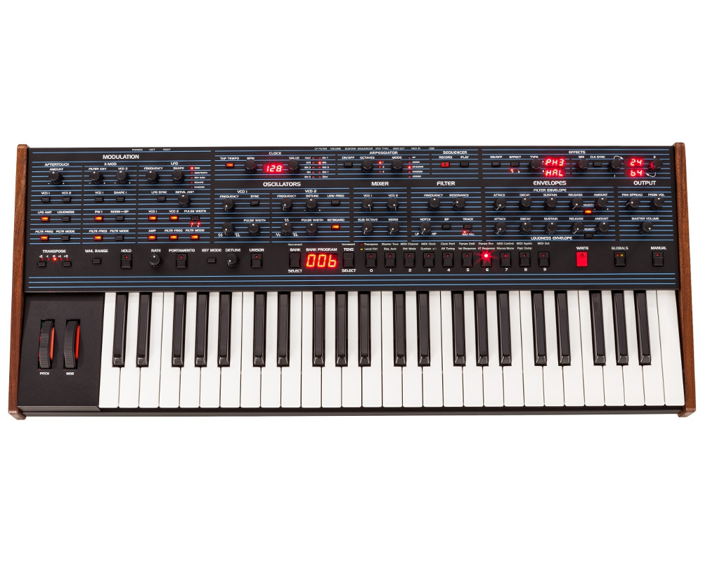 ����������� � ������� ������� Dave Smith Instruments OB-6