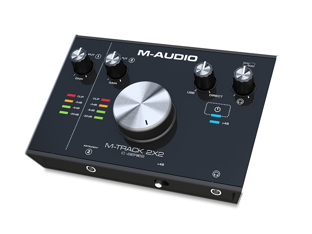 Звуковые карты USB/Thund. M-Audio M-Track 2X2