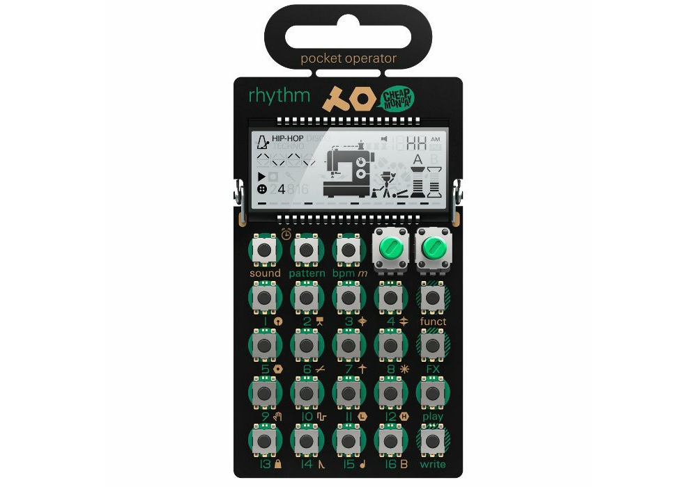 Drum-машины Teenage Engineering PO-12 Rhythm Pocket Operator