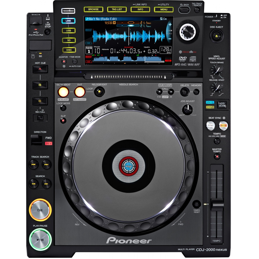 DJ-проигрыватели (CD/USB) Pioneer CDJ-2000NXS (nexus)