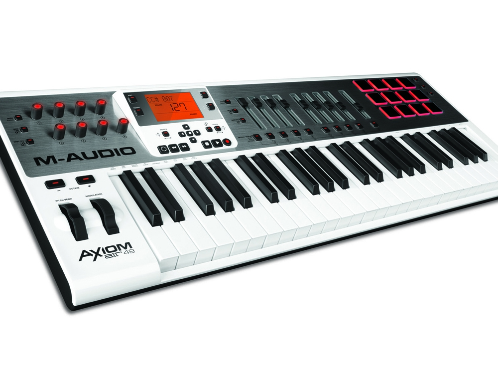 Midi-клавиатуры M-Audio AXIOM AIR 49