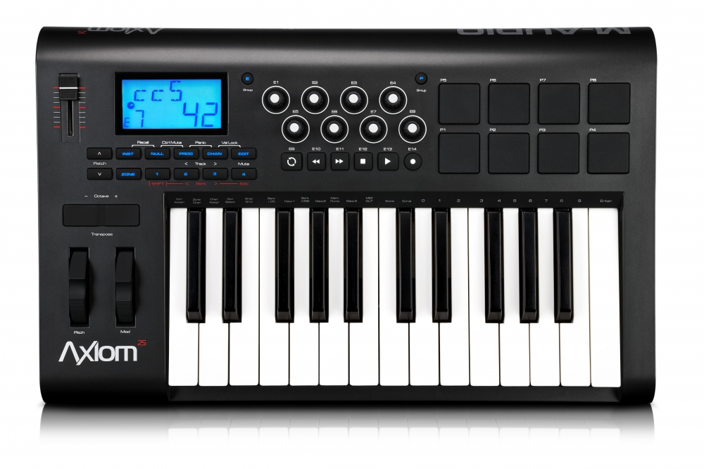 Midi-клавиатуры M-Audio Axiom 25 mkII
