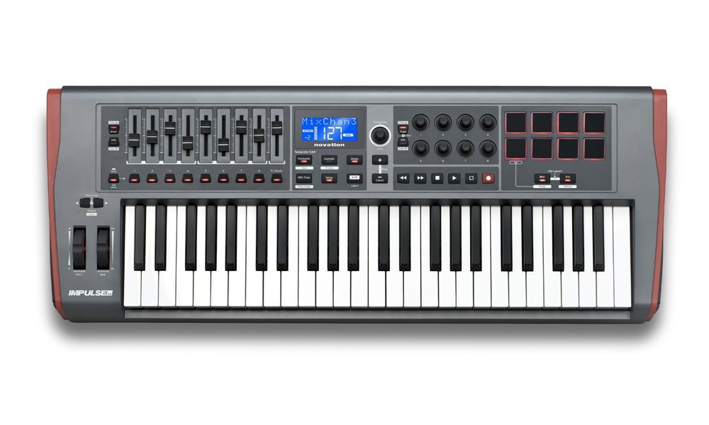 Midi-клавиатуры Novation Impulse 49