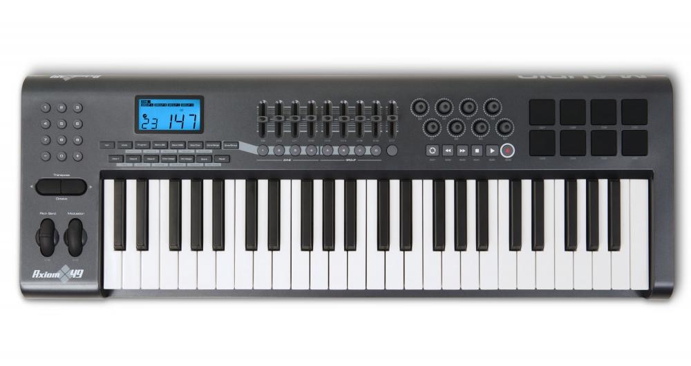 Midi-клавиатуры M-Audio Axiom 49