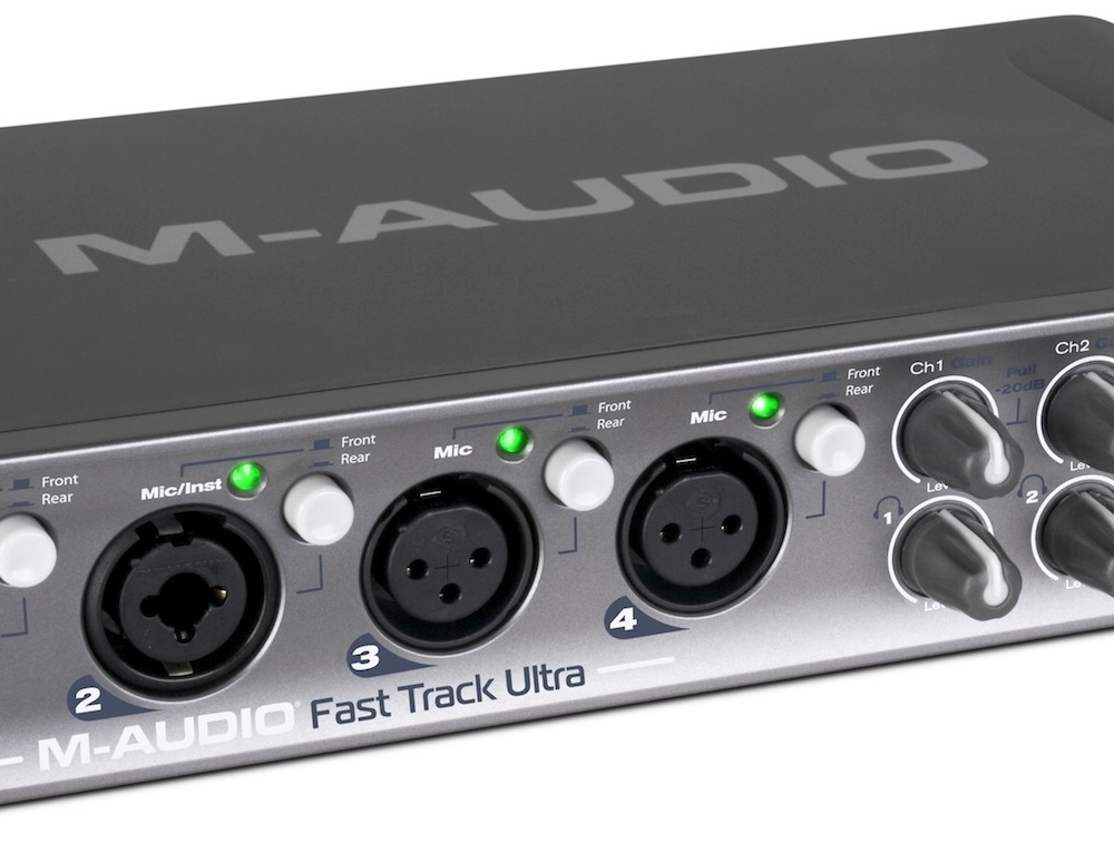 Звуковые карты USB/Thund. M-Audio Fast Track Ultra