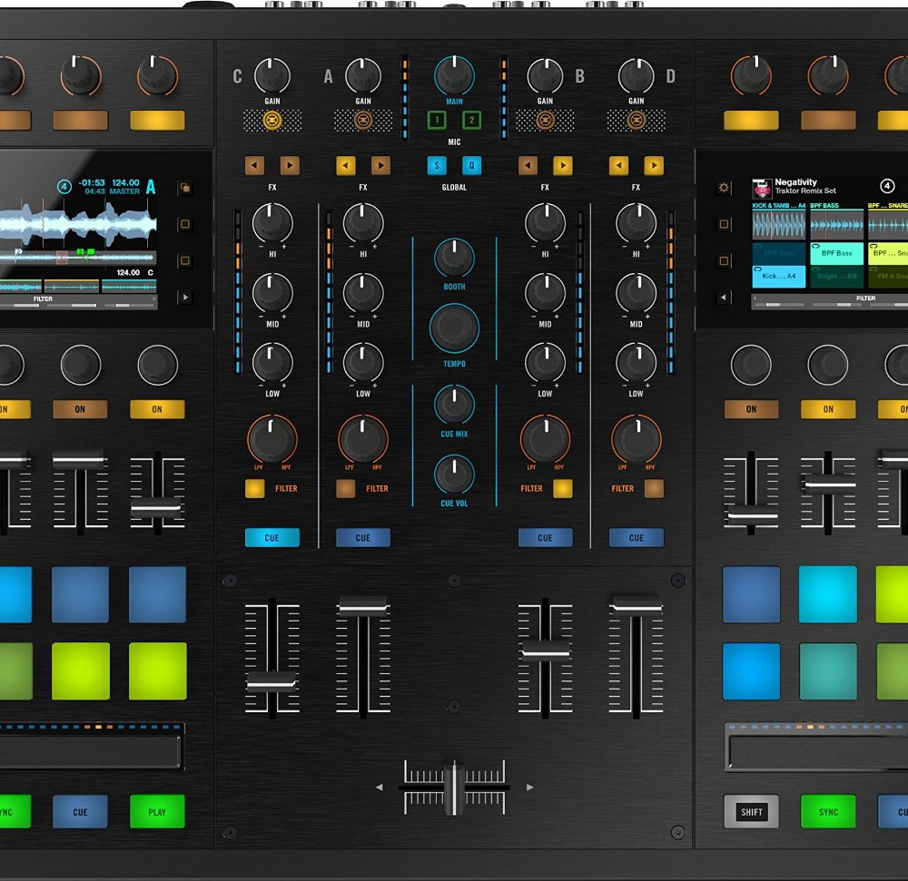 DJ-контроллеры Native Instruments TRAKTOR KONTROL S8