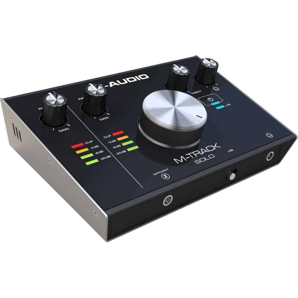 Звуковые карты USB/Thund. M-Audio M-Track Solo