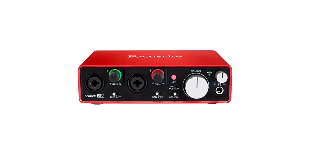 Звуковые карты USB/Thund. Focusrite Scarlett 2i2 NEW