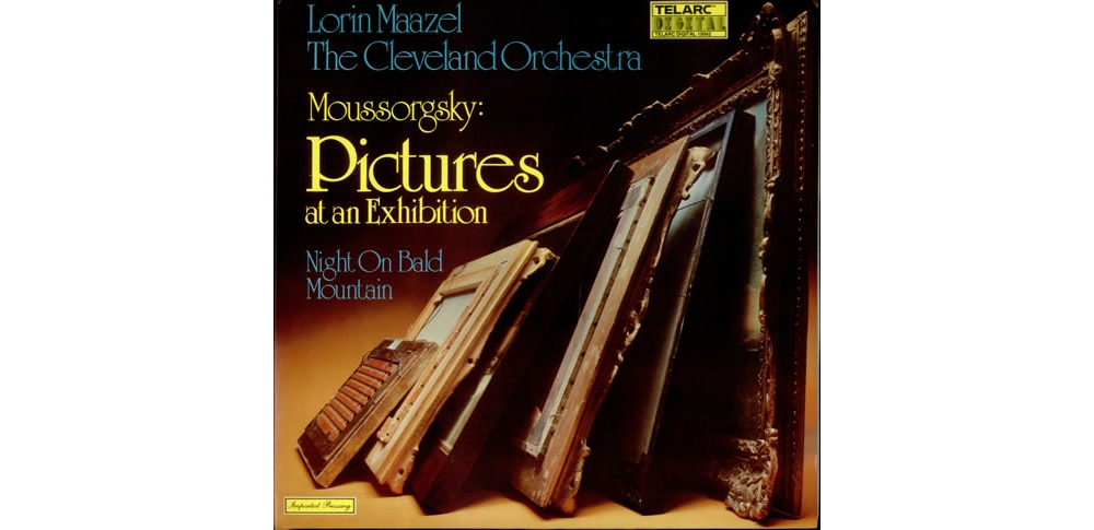 Виниловые пластинки (Vinyl) Пластинки LP Moussorgsky - Pictures at an Exhibition