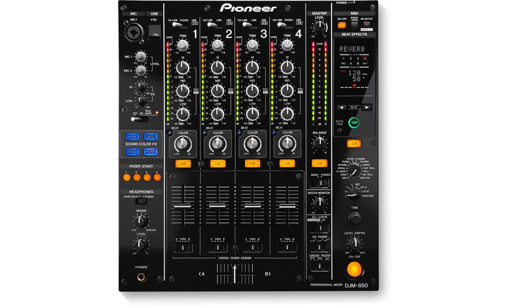 Pioneer DJM-850-K DJ Controller Descargar Controlador
