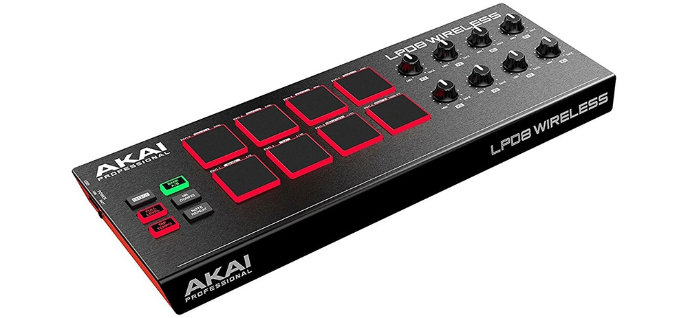 DJ-контроллеры Akai LPD8 Wireless