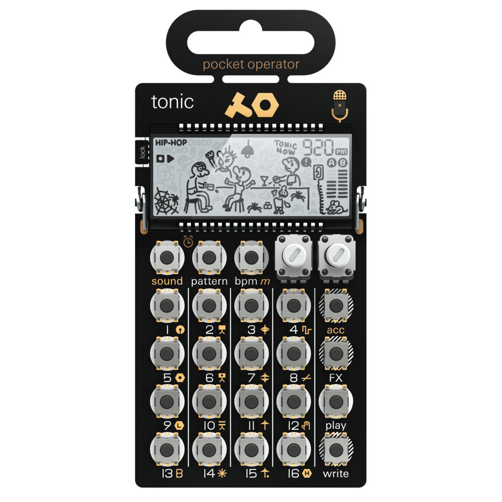 Сэмплеры Teenage Engineering PO-32 tonic